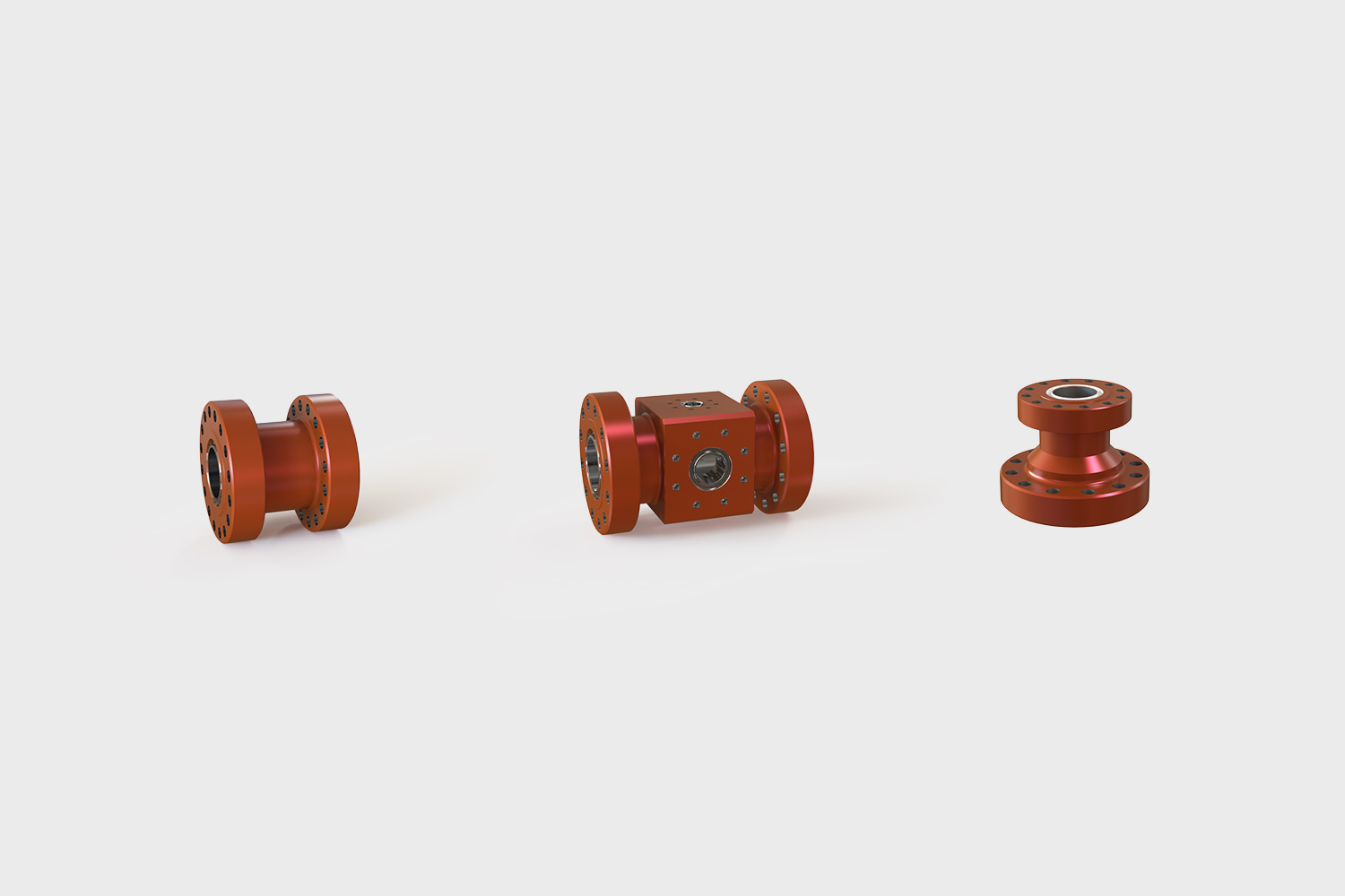 API 6A Type 6B/6BX Spools, Adapter Spools, Spacer, Drilling Spools